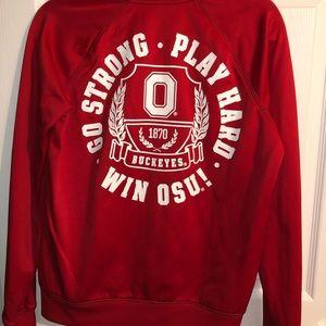 PINK Victoria's Secret Jackets & Coats - Ohio state Victoria secret zip up jacket